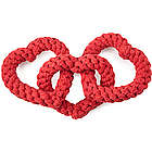 Chain of Hearts Dog Toy