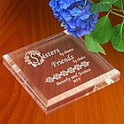 Personalized Sisters & Friends Keepsake & Paperweight