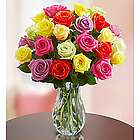 Bouquet of 12 Assorted Roses