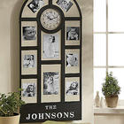 Personalized Metal Photo Frame Clock