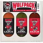 North Carolina State Wolfpack Cajun Grilling Sauce Gift Pack