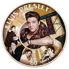 Elvis Presley 60th 1st Number 1 Record Porcelain Collector Plate
