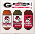 Georgia Bulldogs Grilling Sauce Gift Set