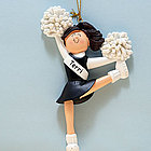 Personalized Cheerleader Ornament