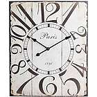 Distressed Rectangular Wall Clock