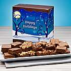 One Dozen Holiday Brownies
