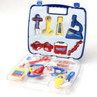 Kid's Doctor and Nurse Dress-Up Role-Play Toy Set