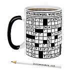 Crossword Puzzle Coffee Mug