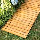 6' Wooden Straight Pathway for Yard