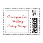 Create Personalized Wedding Stamps