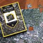 My Town Personalized Aerial Map 400-Piece Jigsaw Puzzle