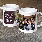 Personalized My Favorite People Call Me Coffee Mug