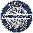 Victory Lane Personalized Garage Sign