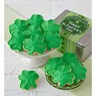 St Patrick's Day Shamrock Buttercream Cookies Gift Tin