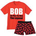 Bob: The Man, the Myth, the Legend Sleepware Gift Set