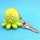 Light Up Talking Octopus Keychain