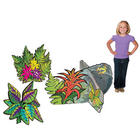 Vacation Bible School Large Plant and Flower 3D Standees