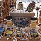 Fresh Popcorn Stuffed Pottery Bowl Gift Set