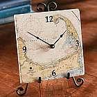 Custom Nautical Tile Clock
