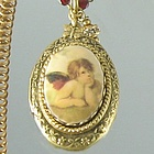 Raphael Angel Locket Necklace