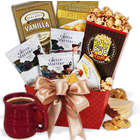 Coffee and Sweets Christmas Gift Basket