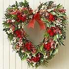 Preserved Heart Wreath