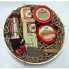 Specialty Wisconsin Cheese and Sausage Gift Basket