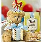 Happy Birthday Bear with Cookies