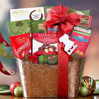 Chocolate Christmas Gift Basket