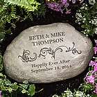 Loving Couple Personalized Garden Stone