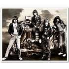 The Ramones 8x10 Sepia Tone Pop Art Print