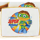 Super Why Super Birthday Cookies