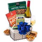 White Wine Countryside Gift Basket