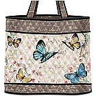 Wings of Inspiration Tote Bag with Butterfly Art