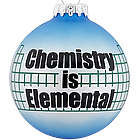 Personalized Chemistry Christmas Ornament
