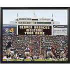 Personalized Denver Broncos Scoreboard 11x14 Canvas