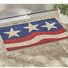 3-Star Patriotic Door Mat