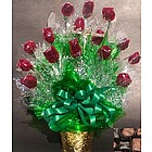 One Dozen Assorted Chocolates Bouquet