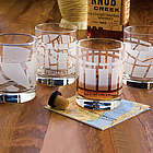 Well Traveled Themed Rocks Tumbler Glasses