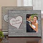 Personalized Can't Help Falling in Love Picture Frame