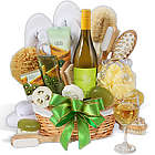 Premium Spa and Wine Gift Basket