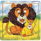 Lion and Cub 21-Piece Jigsaw Puzzle