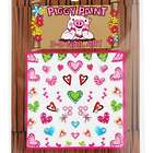 Piggy Paint 3D Hearts Nail Art Sheet