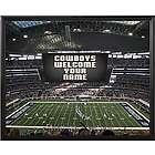 Personalized Dallas Cowboys Scoreboard 11x14 Canvas