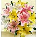 Sweet Spring Lilies Flower Bouquet