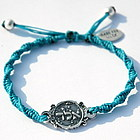 Protection 72 Names of God Turquoise Bracelet