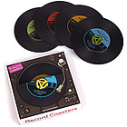 45 RPM Record Coasters