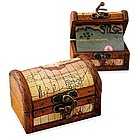 Personalized Wood Treasure Chest