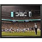 Personalized NFL Scoreboard New York Jets 11x14 Canvas