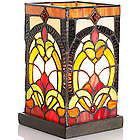 Square Stained Glass Memory Lantern